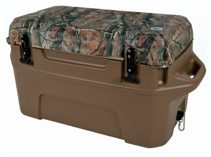 Igloo Yukon Cold Locker 50 Quart Cooler - Dark Tan/RealTree