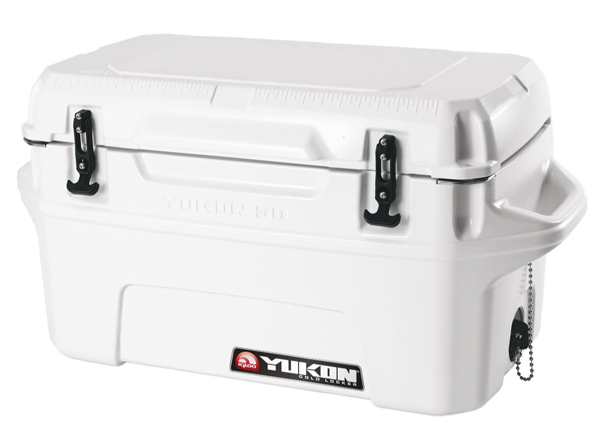 Igloo Yukon 50 Cooler ~ Igloo yukon cold locker quart cooler white