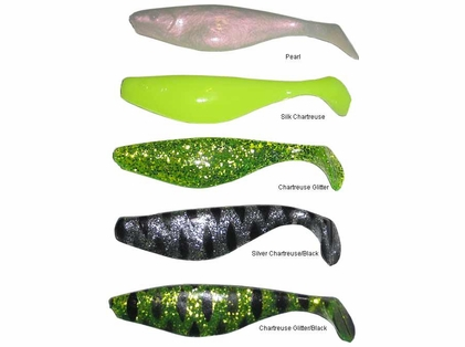 Inshore Custom Tackle S6 Replacement Shads
