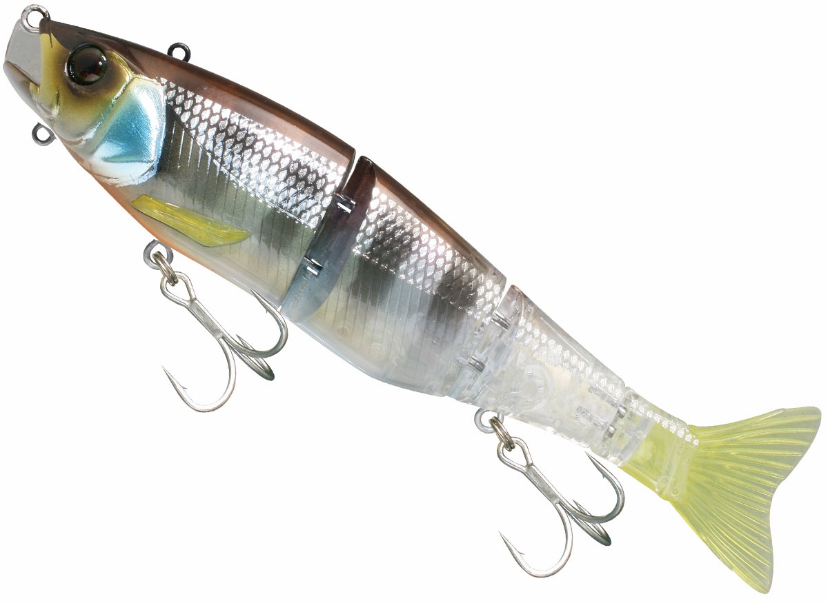Jackall gantia swim bait for Fishing with jigs