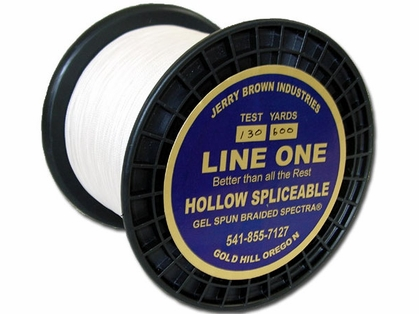 Jerry Brown Line One Hollow Core Spectra Braided Line 300yds