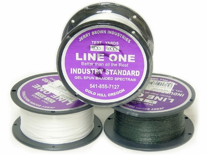 Jerry Brown Line One Non-Hollow Spectra Braided Line 300yds 50lb