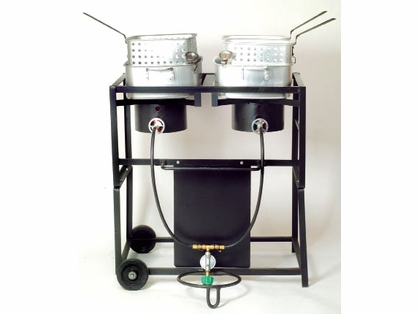 King Kooker Frying Outdoor Cooker Carts