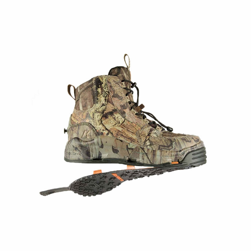 Korkers fb4403 ambush fishing wading boot tackledirect for Wading shoes for fishing