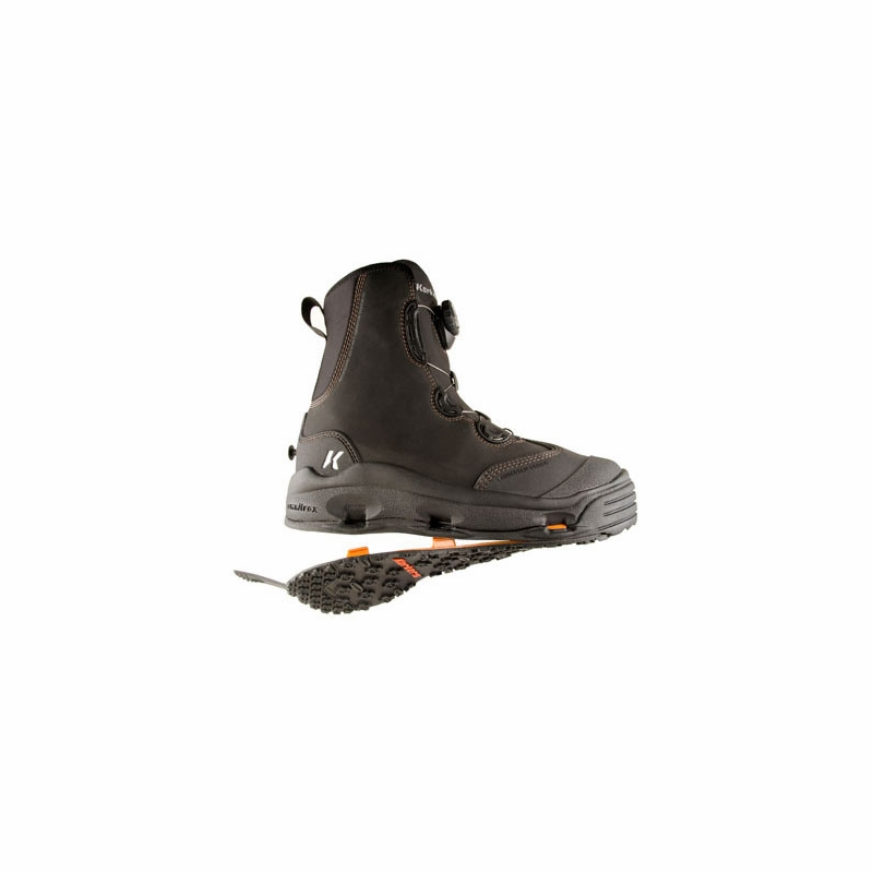 Korkers devils canyon fishing wading boot tackledirect for Wading shoes for fishing
