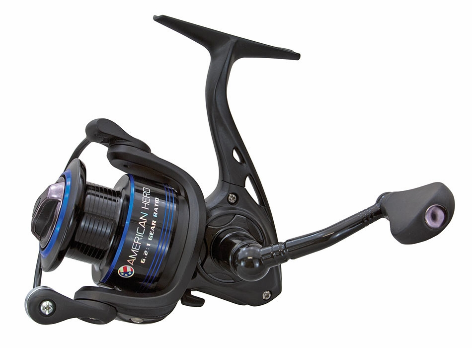 Lew 39 s american hero spinning reels tackledirect for Lews fishing apparel