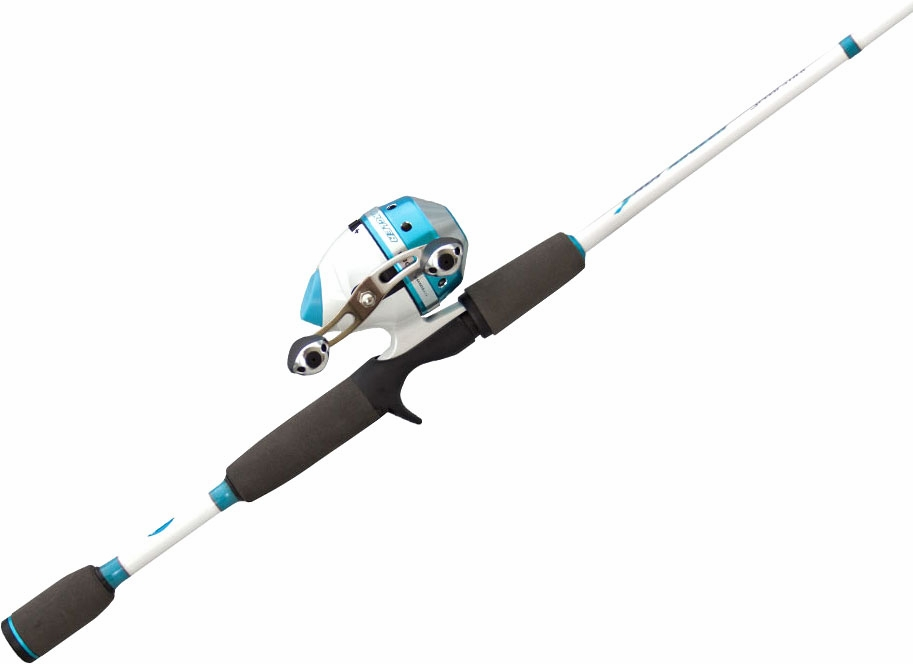 Lew 39 s las2063m 2 lady angler spincast combo tackledirect for Lews fishing rods