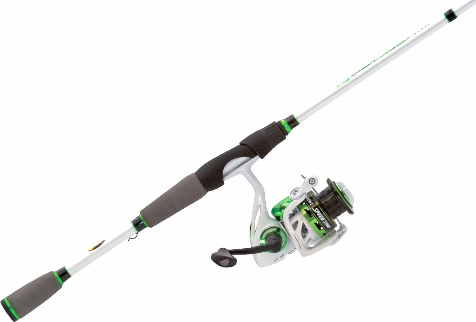 Lew 39 s m23069mfs mach ii speed spin combo tackledirect for Lews fishing rods