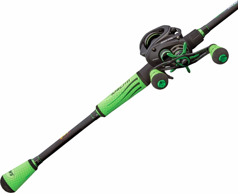 Lew 39 s mh2shl70mh mach ii speed spool slp baitcast combo for Lews fishing rods