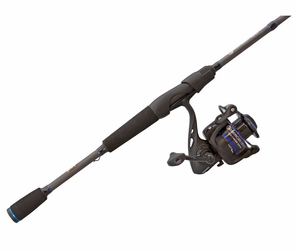 Lews ah3066m 2 american hero speed spinning combo for Lews fishing rods