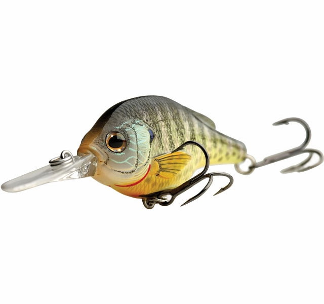 Livetarget lures bluegill crankbait tackledirect for Bluegill fishing lures