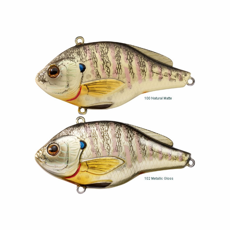 Livetarget lures bluegill lipless rattlebait tackledirect for Bluegill fishing lures