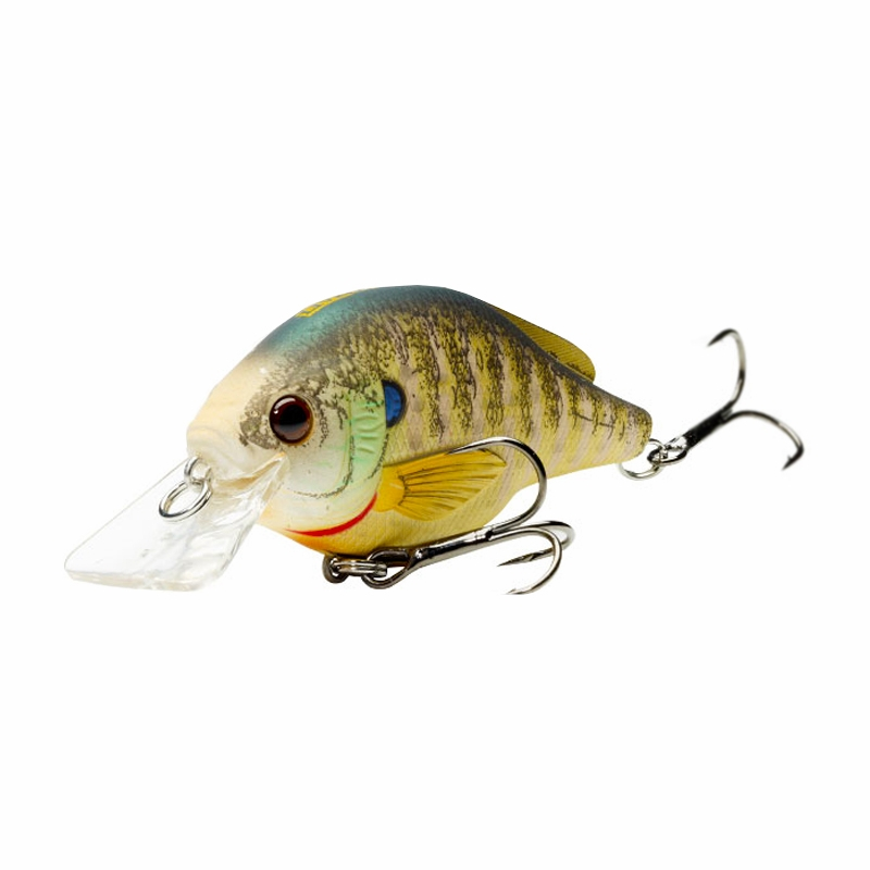 Livetarget lures bluegill squarebill tackledirect for Bluegill fishing tackle
