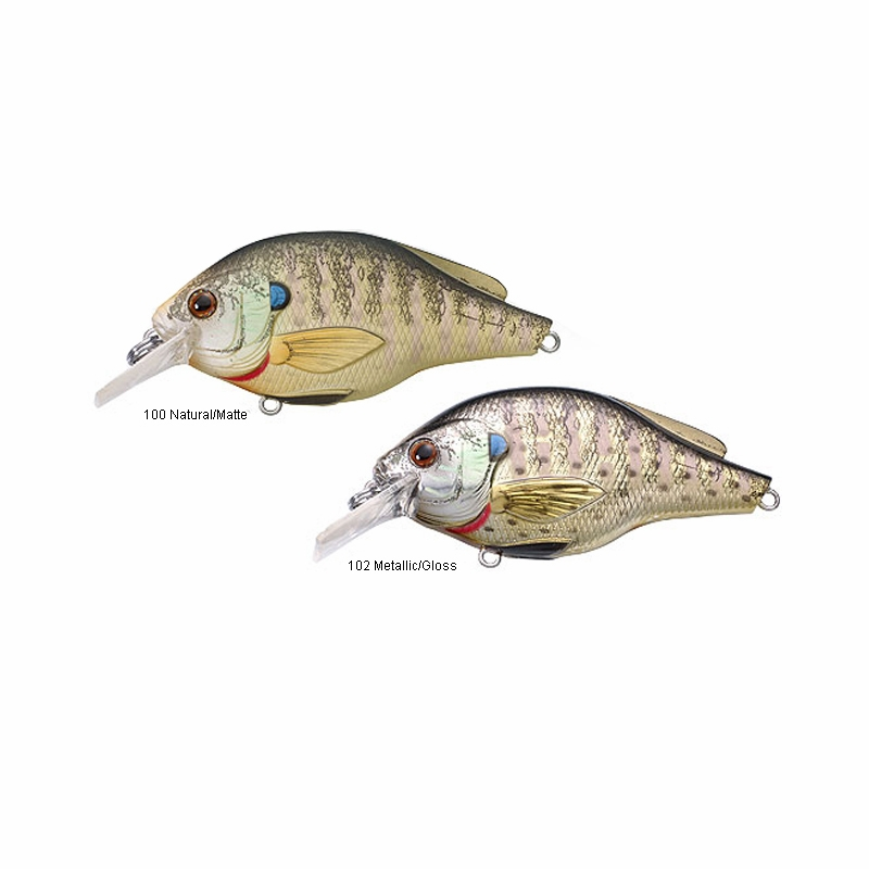 Livetarget lures bluegill squarebill bgss60s tackledirect for Bluegill fishing tackle