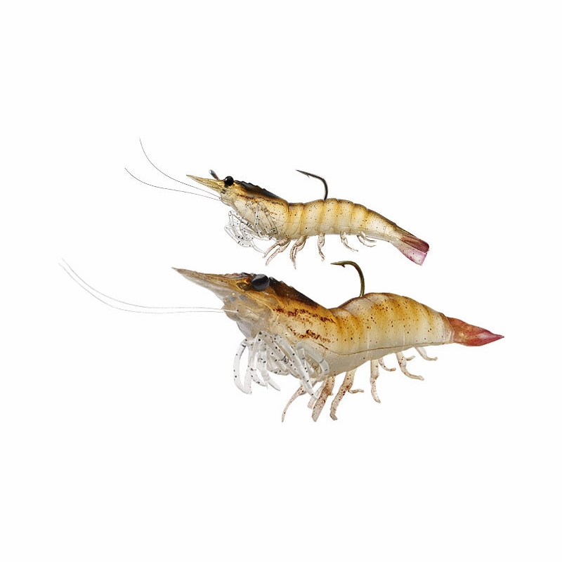 Livetarget lures shrimp pre rigged soft bait tackledirect for Fishing with live shrimp