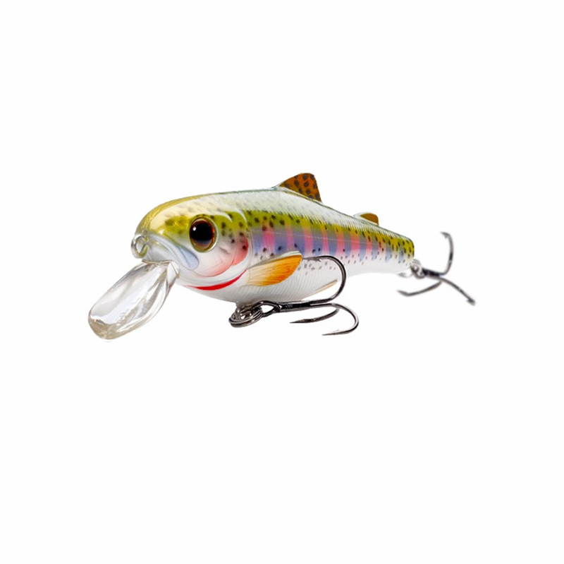 Livetarget lures trout fry sinking crankbait tackledirect for Trout fishing lures