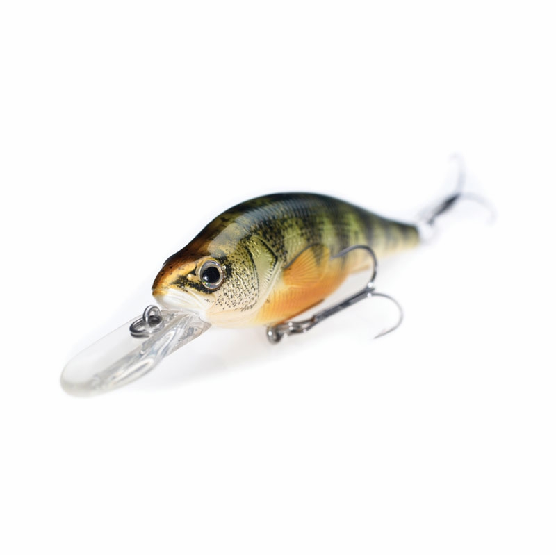 Livetarget lures yellow perch crankbait jerkbait yp98s 3 5 8in for Yellow perch fishing rigs