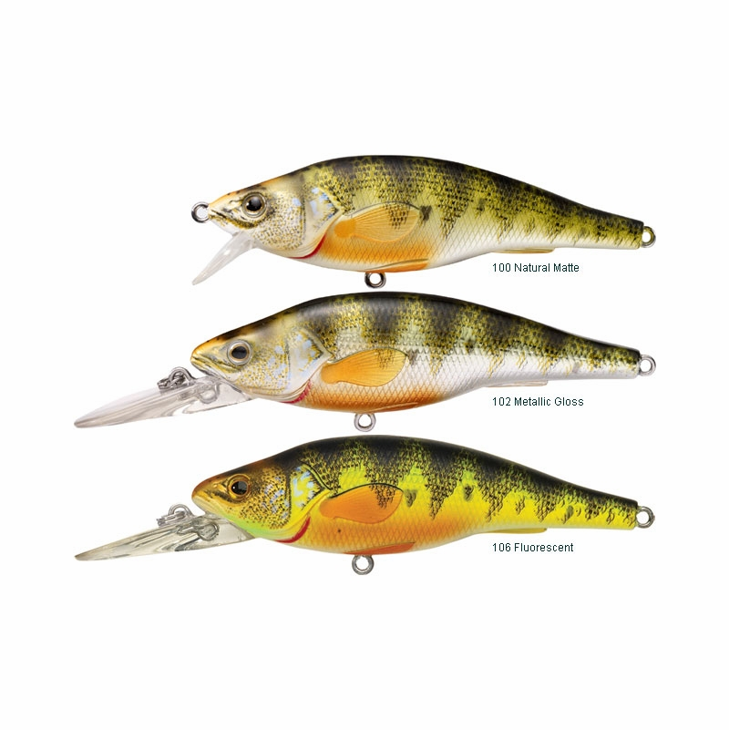 Livetarget lures yellow perch crankbait jerkbait for Live target fishing lures
