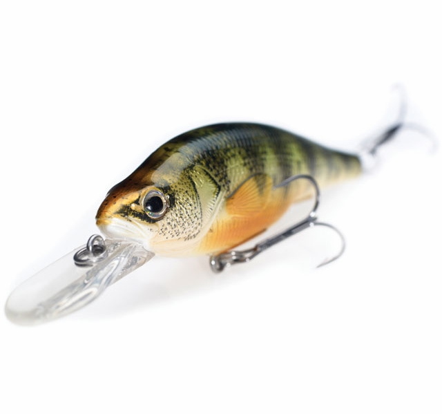 Livetarget lures ypj73d yellow perch crank jerkbait for Yellow perch fishing rigs