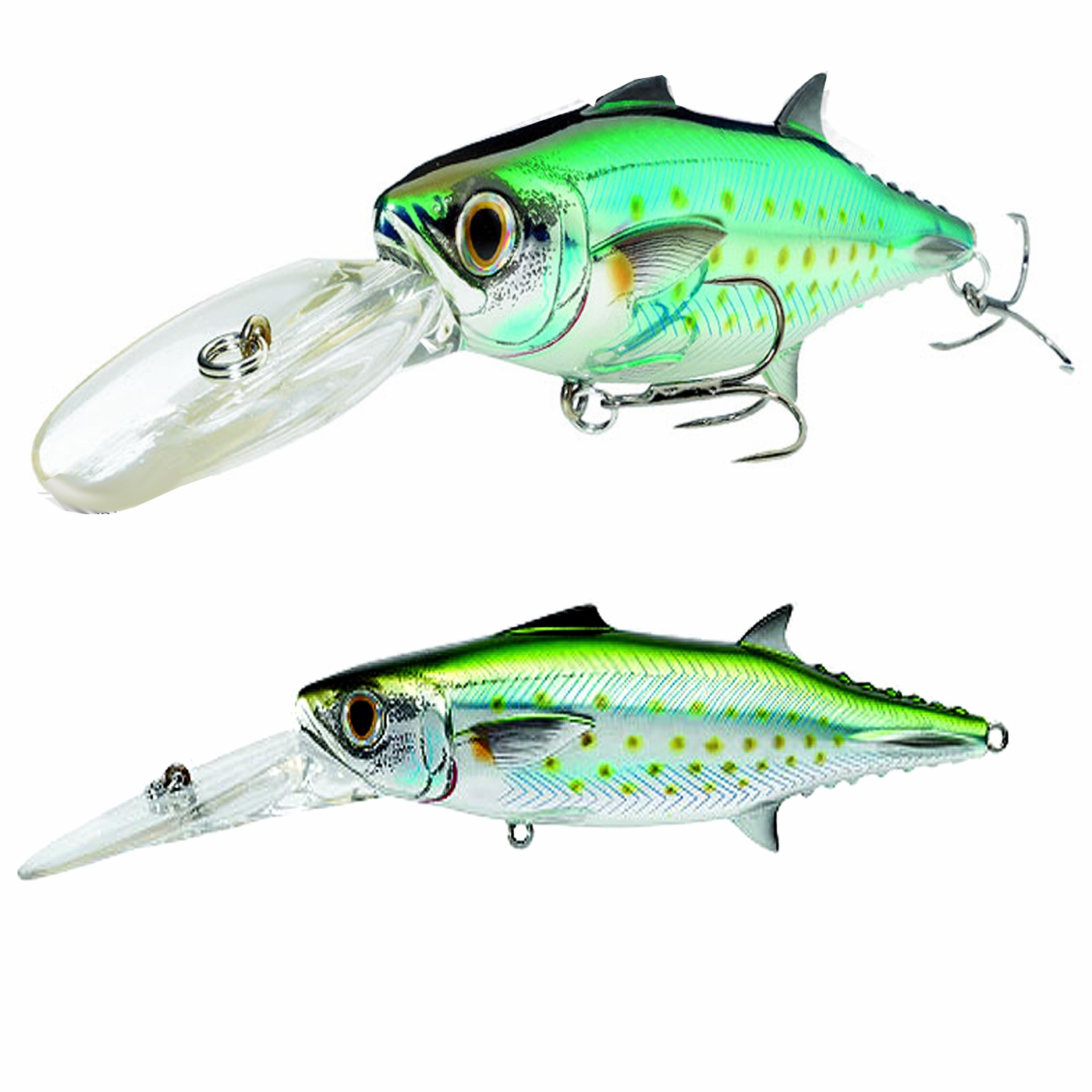 Livetarget spanish mackerel trolling bait lures tackledirect for Ocean fishing gear