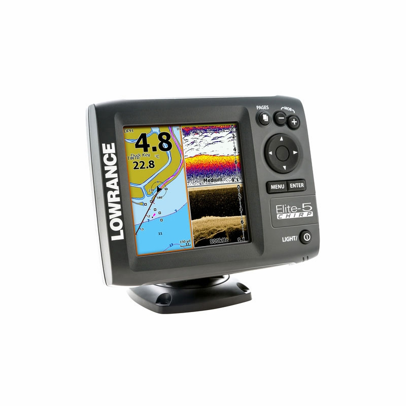 lowrance elite 5 gold fishfinder chartplotter combos tackledirect. Black Bedroom Furniture Sets. Home Design Ideas