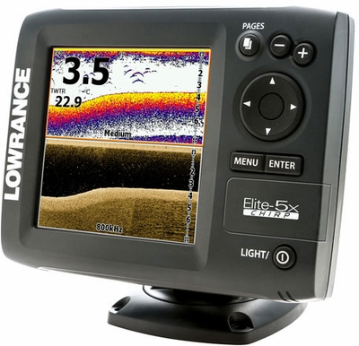 lowrance elite 5x chirp base fishfinders tackledirect. Black Bedroom Furniture Sets. Home Design Ideas