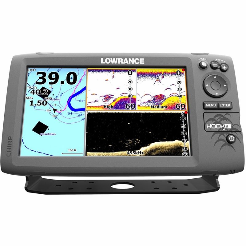Lowrance HOOK9 FishfinderChartplotter Combos – Lowrance Fish Finder Wiring Diagram