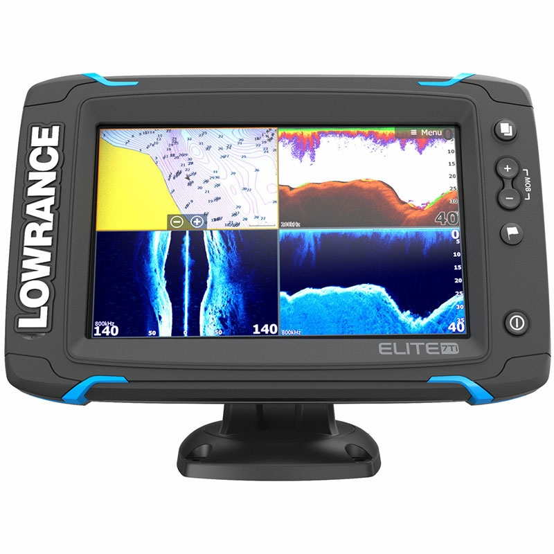 lowrance 000 12419 001 elite 7 ti touch combo tackledirect. Black Bedroom Furniture Sets. Home Design Ideas