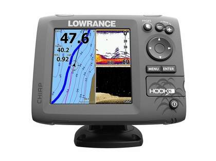 Lowrance 000 12656 001 hook 5 combo w hdi transducer for Lowrance hook 7 trolling motor mount