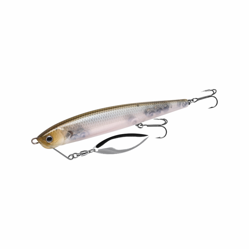 Lucky craft blcs110 blade cross jerkbait lure tackledirect for Freshwater fishing lures