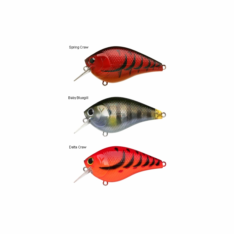 Lucky craft fat cb b d s crank bait lures tackledirect for Lucky craft saltwater lures