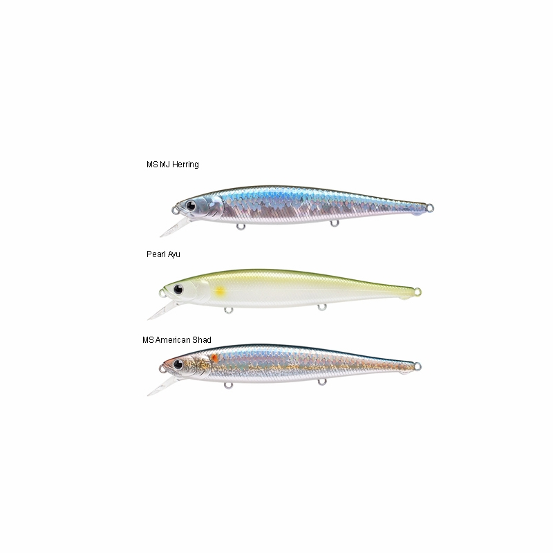 lucky craft fpt115 flash pointer 115 jerkbait lure