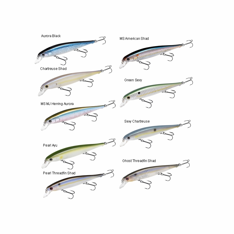 Lucky craft fpt115mr cif flash pointer lure for Lucky craft saltwater lures