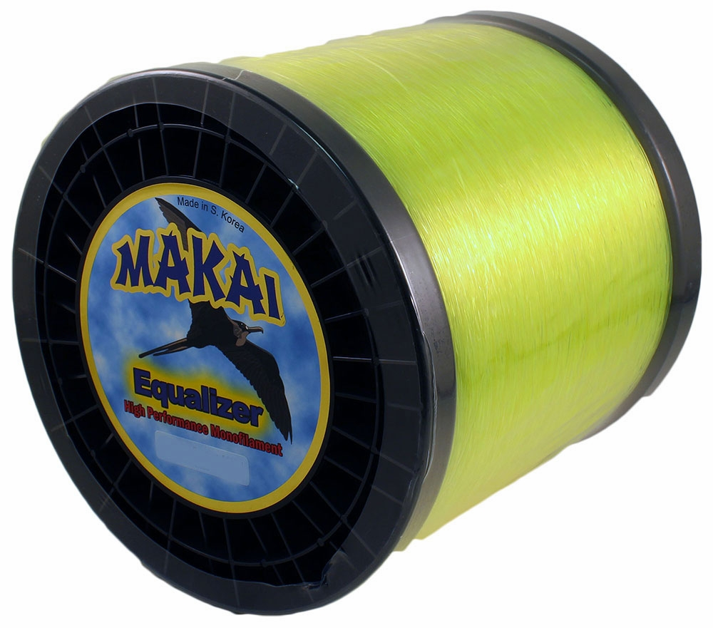 Makai equalizer monofilament 5lb spools tackledirect for Best monofilament fishing line for saltwater