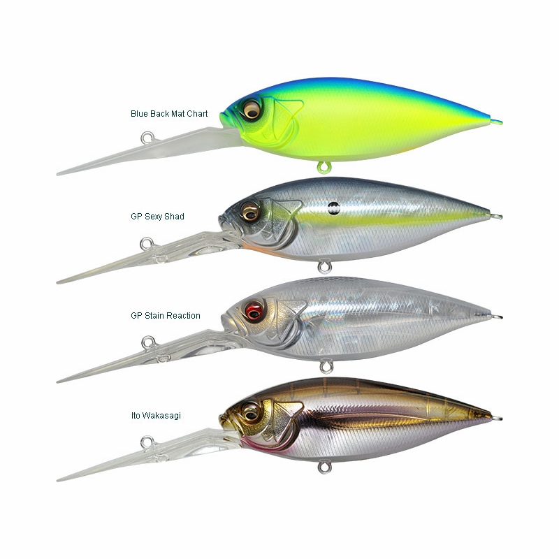Crankbaits Baits, Lures & Flies MEGABASS DEEP-SIX
