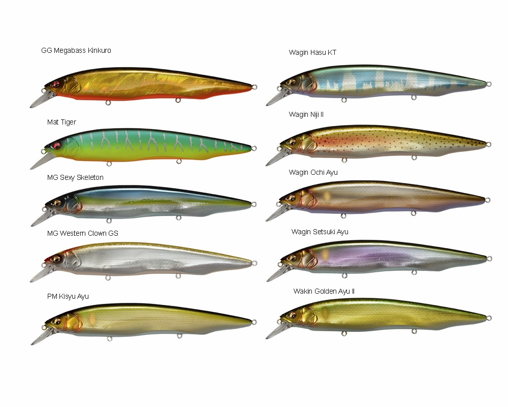 Megabass Kanata Jerkbait | TackleDirect