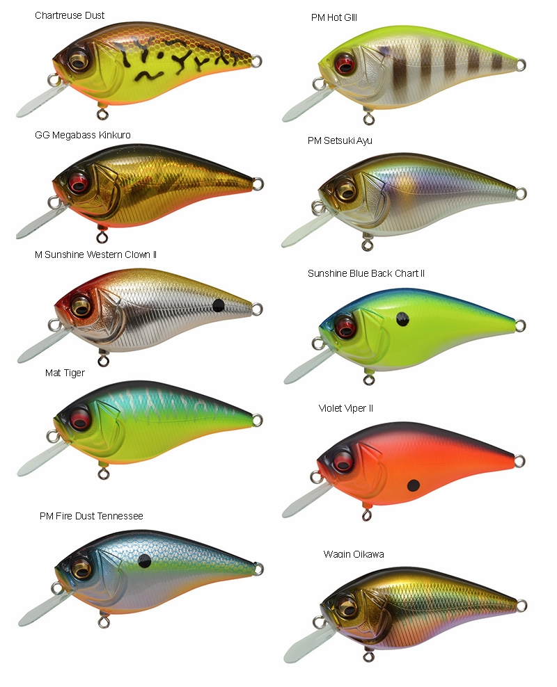 Megabass the Knuckle LD Lure | TackleDirect