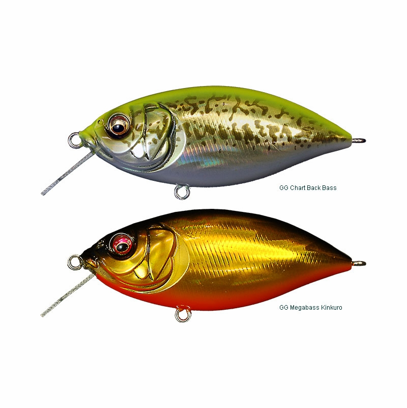 Megabass z crank x rattle in crankbait tackledirect for Freshwater fishing lures
