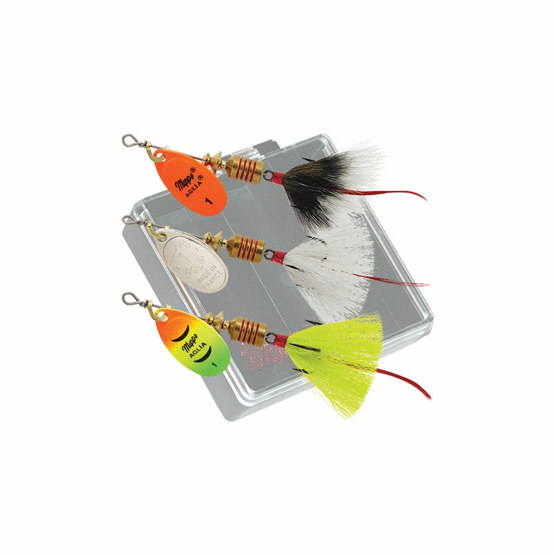 Mepps trout pocket pac lure kit kb t d tackledirect for Fishing lure kits