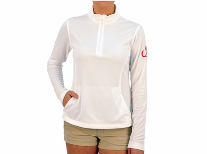 Montauk Tackle Company Women's Performance 1/4 Zip Shirts