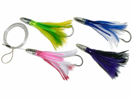 Offshore Custom Tackle Rigged Zuker Feather Skirts