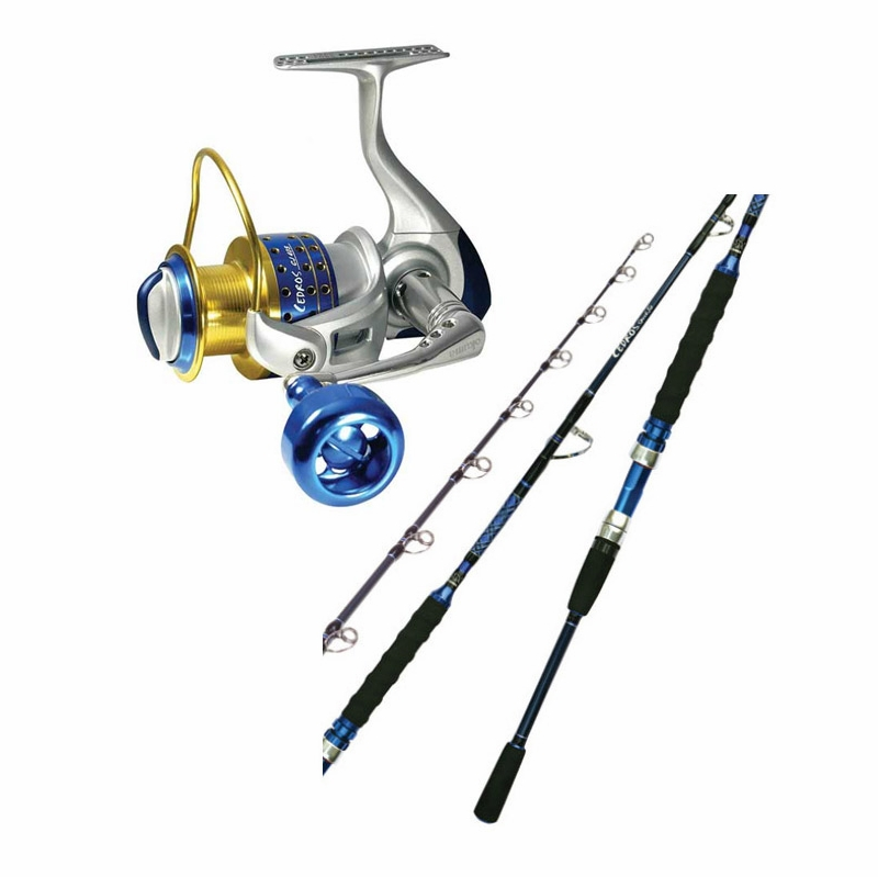Okuma cj80s cj s 701mh cedros spinning combo for Saltwater fishing rod and reel combos