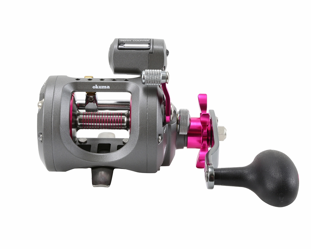 Okuma coldwater ladies edition line counter reels for Line counter fishing reels