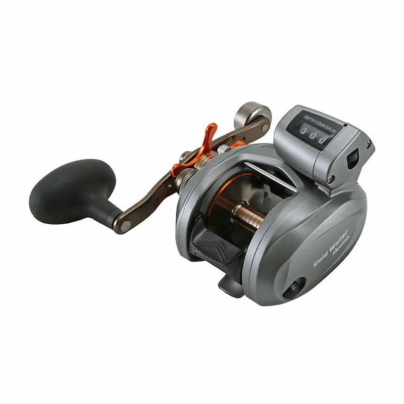 Okuma Cw 454d Coldwater Low Profile Line Counter Reel