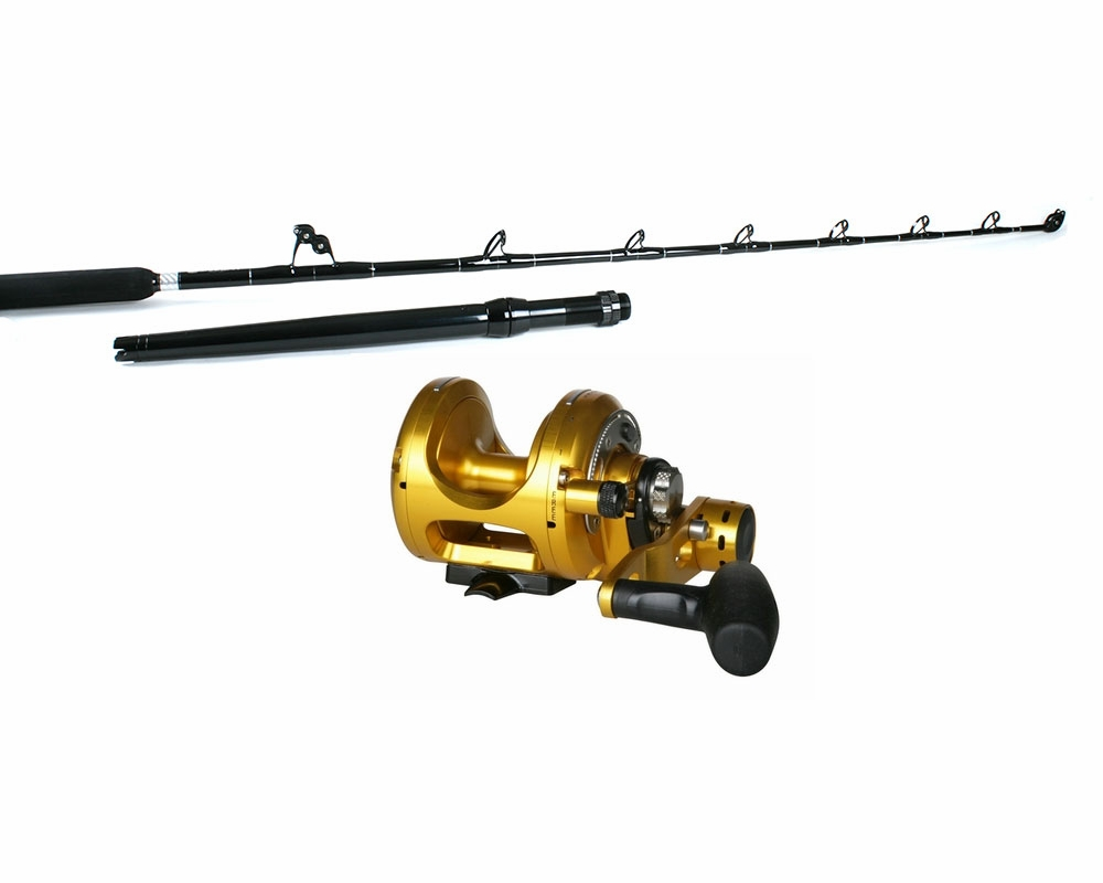 okuma makaira reel barrett 6ft 6in rod shark combo