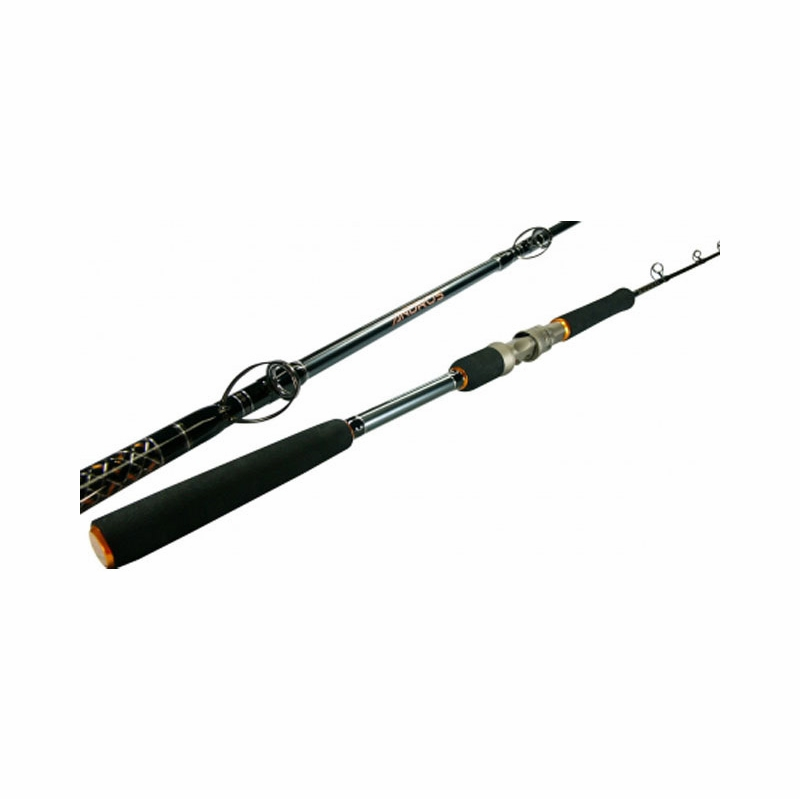 Okuma saltwater andros full grip jigging rods tackledirect for Salt water fishing poles