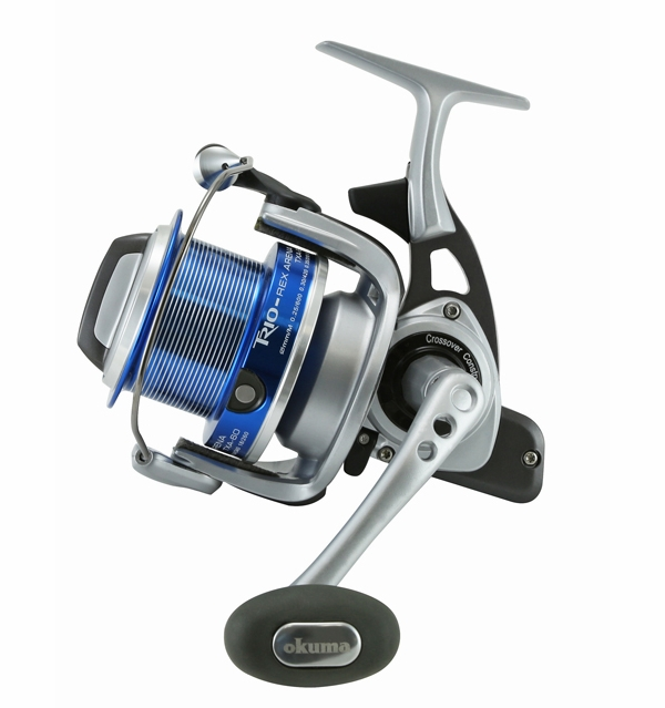 Okuma txa 60 trio rex arena surf spinning reel tackledirect for Surf fishing rod and reel