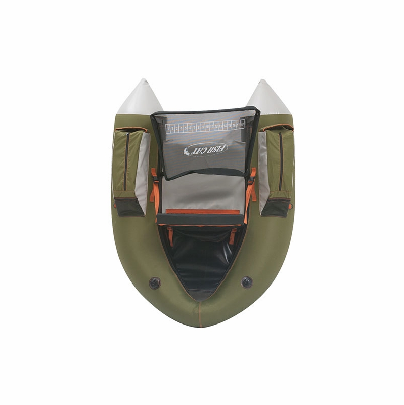 Outcast fish cat 4 inflatable float tube tackledirect for Fish cat 4
