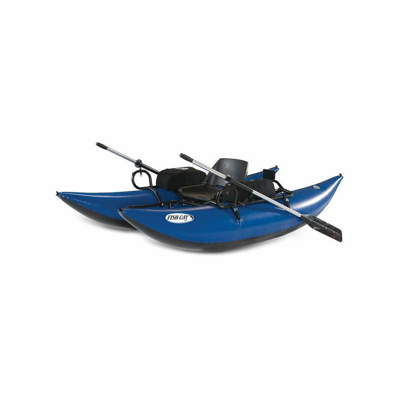 outcast fish cat 9 inflatable pontoon boat tackledirect