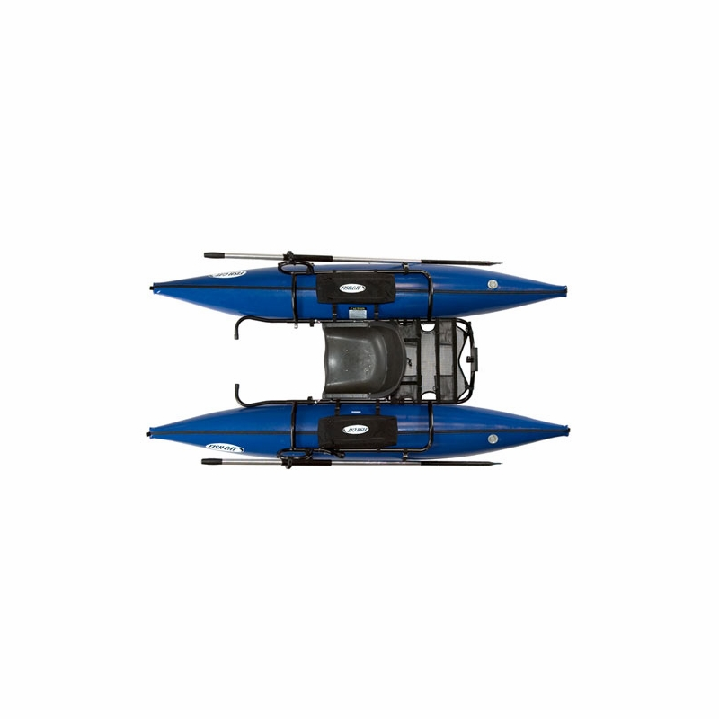 Outcast fish cat 9 inflatable pontoon boat tackledirect for Fish cat pontoon